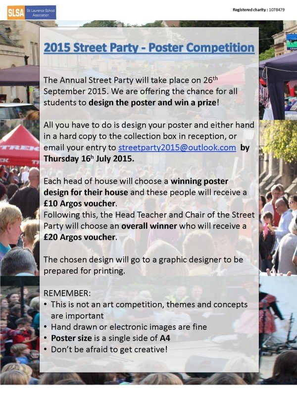 Street Party Poster Competition